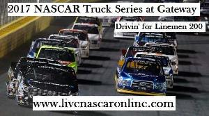 NASCAR Truck Series Gateway Live Streaming